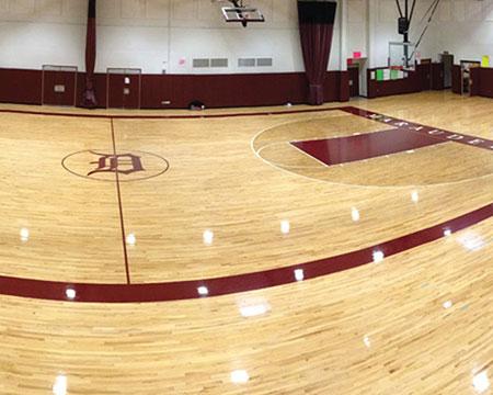 篮球场馆运动木地板价格-篮球地板价格