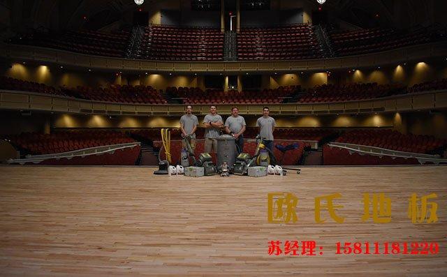 舞台木地板有色差,是好事还是坏事?