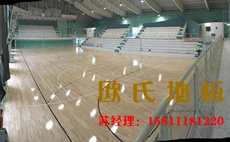 篮球馆铺装木地板需要注意什么