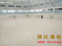 云南文山学院体育馆地板案例