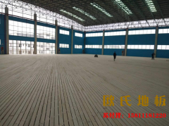 云南红河州财经学院篮球运动场馆木地板案例