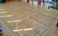 江苏体育木地板厂家结构分类实木体育运动木地板厂家施工方案