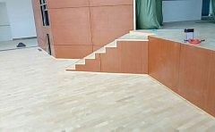 体育地板安装辅料:踢脚线、扣条、防潮膜,你都了解吗?