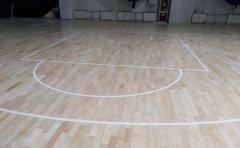 郑州枫木篮球馆木地板保养常识篮球木地板价格