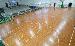 新疆篮球馆木地板划痕的处理方法篮球馆木地板材质