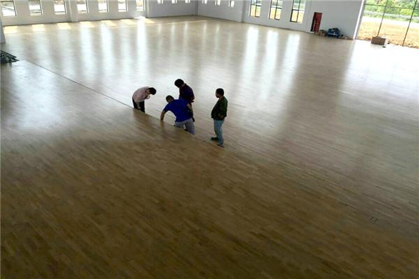 体育场馆运动木地板--杭州淳安县大墅中学