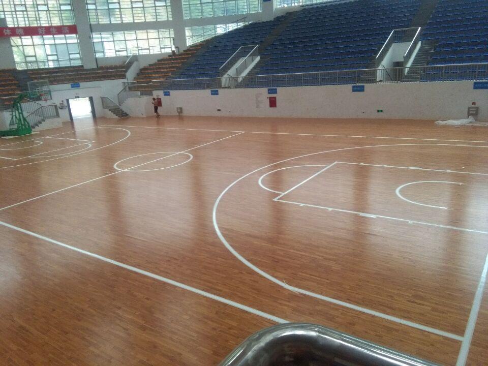 四川平武县体育中心运动木地板