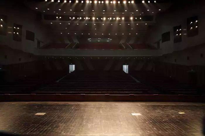 杭州萧山大剧院舞台木地板