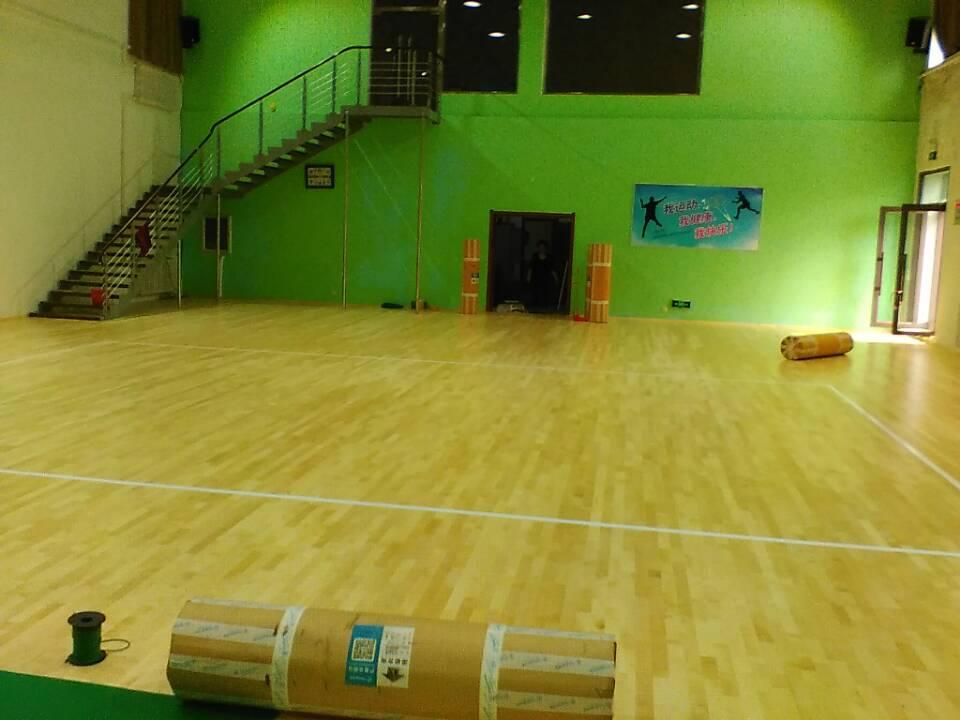 运动木地板--大兴安岭加格达奇财政局案例