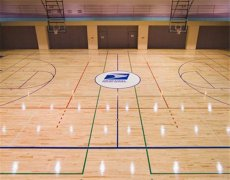 杭州羽毛球馆木地板怎么选