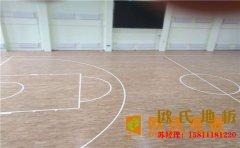 四川专用篮球场地板厂